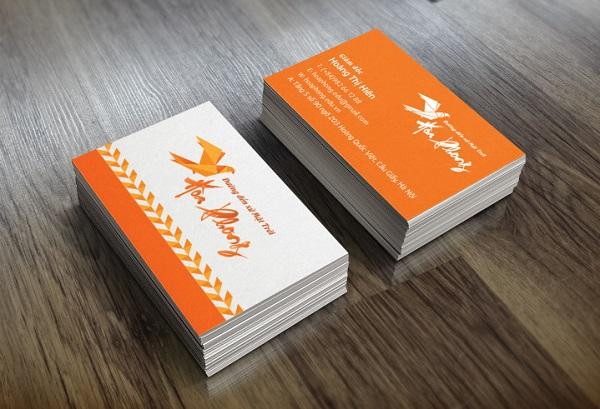 Danh thiếp công ty du học Nhật Bản Hòa Phong do CBM Branding thiết kế