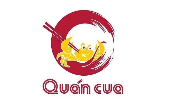 Logo nhà hàng hải sản Quán Cua đẹp, chuyên nghiệp do CBM Branding thiết kế