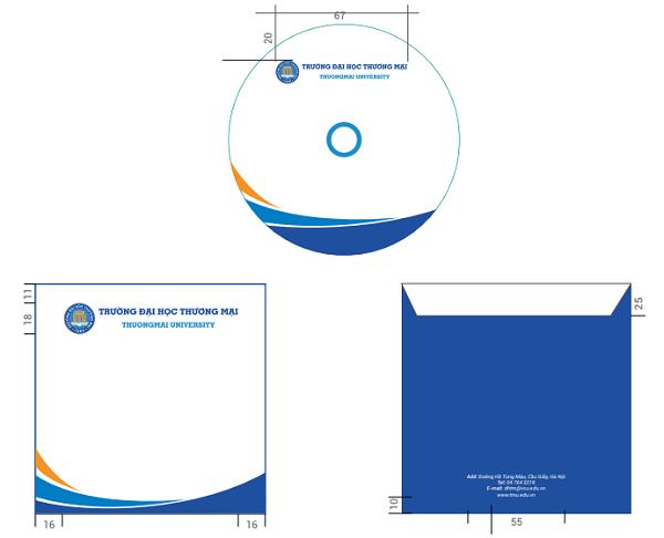 Thiết kế phong bì đĩa - CBM Branding