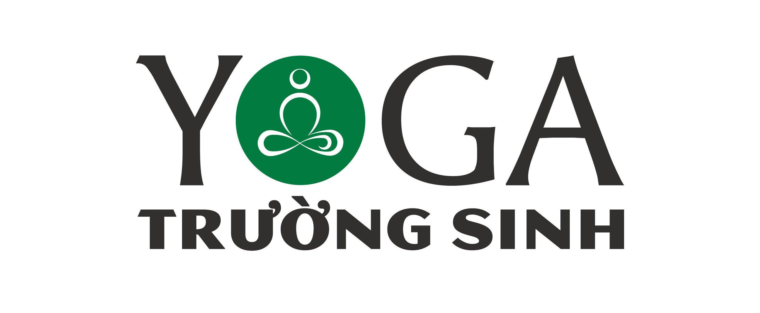 Thiết kế logo màu xanh cho trung tâm yoga tại Đan Phượng, Hà Nội