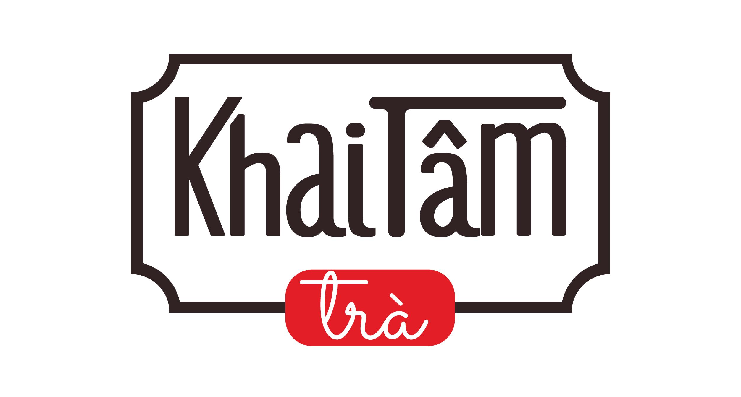 Thiết kế logo vintage cho quán trà tại Hà Nội