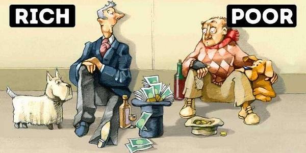 Người giàu, người nghèo và tư duy mượn lực