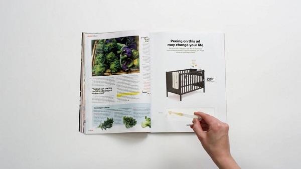 Quảng cáo của IKEA trên tạp chí